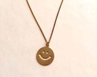 Feel Good Gold Vintage Necklace