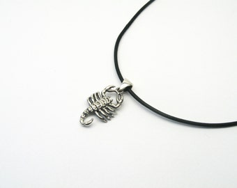 Scorpion jewelry pendant Silver 925