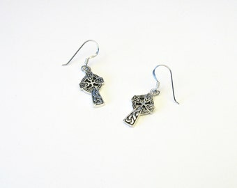 "Celtic earrings ""Celtic Cross"" Silver 925"