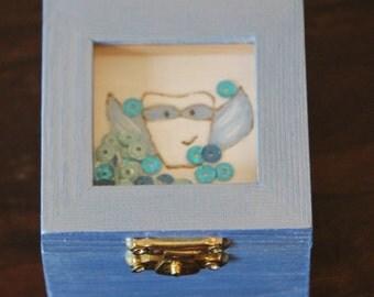 Tooth Fairy Box! Tooth storage, Tooth Keepsake, Tooth Fairy Treasure Box, Superhero Tooth Fairy Box