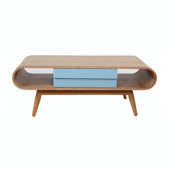 Mid Century Wood Media Console. Scandinavian Wood by ...