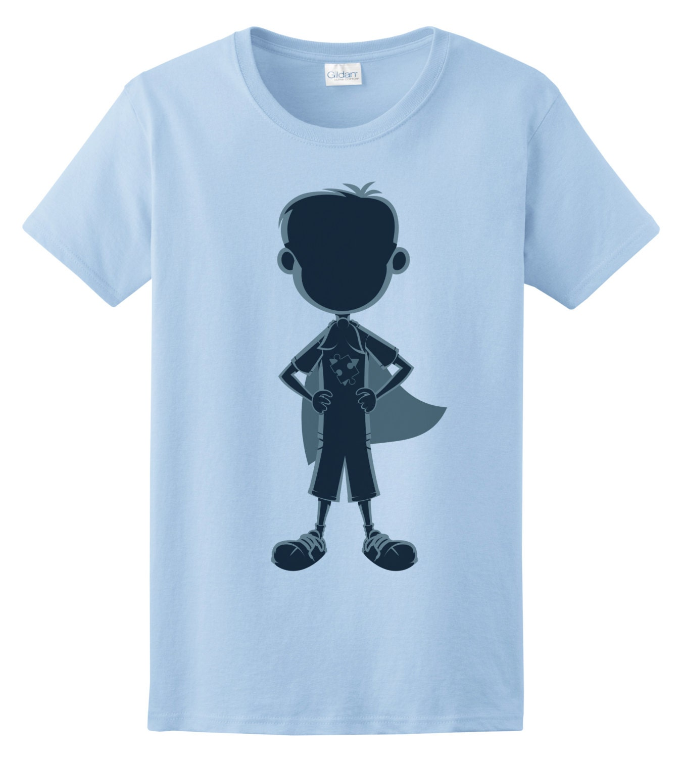 Autism superhero boy t shirt Boys superhero t shirts