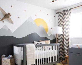 Nursery Wall Decal Etsy - Wall stickers for bedroom