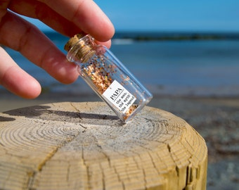 Papa, the man, the myth, the legend. Tiny message in a bottle. Personalised Gift. Funny Love Card. Valentine Card. Special greeting card.