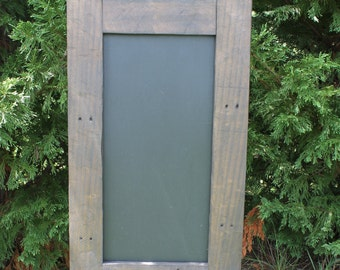 Chalkboard, wood chalkboard, reclaimed wood
