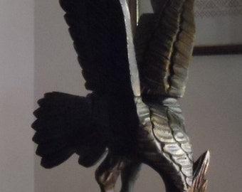 Former Raptor wooden