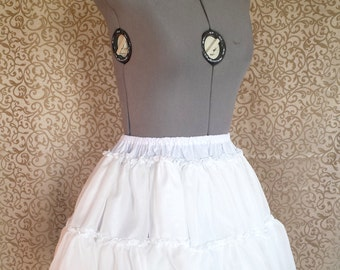 Chiffon A-Line, 2-Tiered Lolita Petticoat