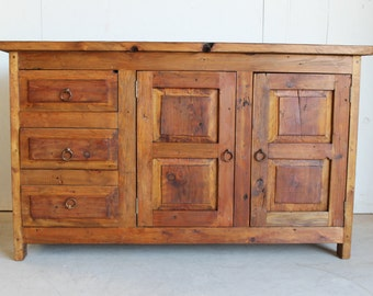 chic handcrafted 9 drawer rustic solid wood vanity dresser r