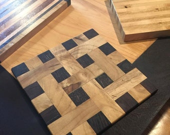 Myrtle/Wenge Handcrafted Cutting Board