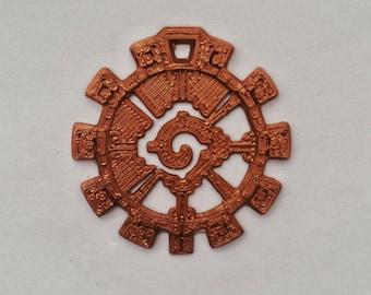 Mayan Equilibrium Pendant