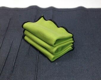 Organic Wash Cloth - Dish Cloth - Organic Cleaning - Facial Beauty Cloth - Baby Diaper Wipe -  Dish Rag - New Mom Gift - Eco Friendly - 3