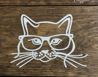 Cool Cat Decal