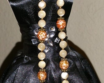 """10"""" Hand Beaded Necklace"""