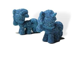 My little pony Light Blue glitter