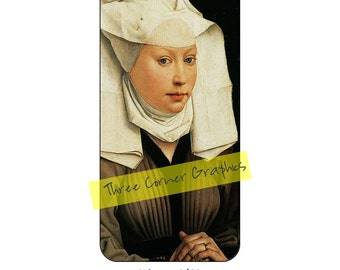 Fine art iPhone 6/6S case design (Early Renaissance, Flemish, Portrait of a Young Woman by Rogier van der Weyden, around 1440)