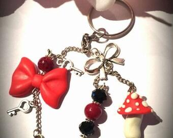 """Keyring bag theme """"Alice"""""""