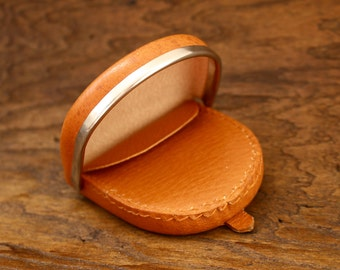Vintage Leather Coin Wallet / Purse