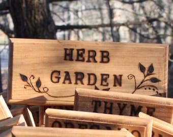 Herb Garden Signs