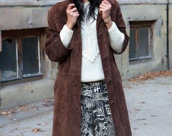 Boho Leather Coat