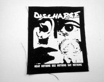 Discharge Punk Band Patch