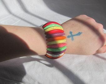 Rainbow Stone Bracelet