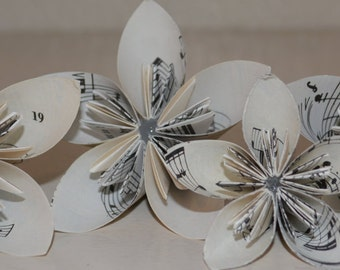origami flowers - made to order