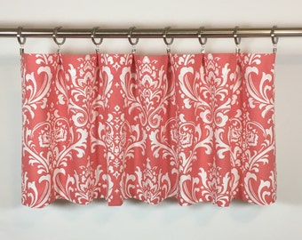 Coral valances – Etsy