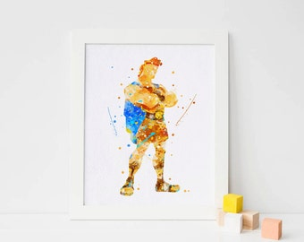 Disney Hercules Disney print Nursery Hercules Poster hercules wall art hercules printable art Kids wall decor hercules artwork hercules art