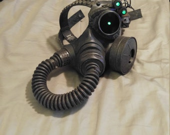 Fallout Style Gas Mask W/ LED Lights