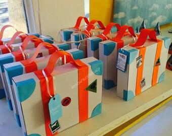 Suitcase Party Favor Boxes
