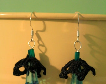 Panther Bell Earrings