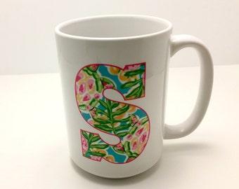 Personalized Letter Mug | Coffee Mug | Personalized Gift | Hostess Gift | Monogram gift