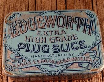 Edeworth tobacco tin