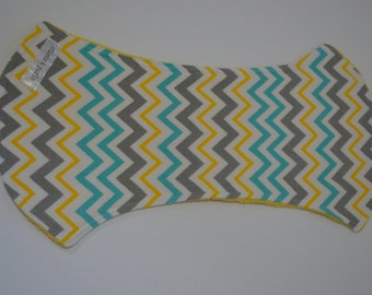Chevron Burp Cloth