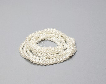Pearls, (Simulated Pearls), 6mm. Made in Japan,