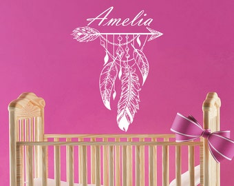 Feather Wall Decals Etsy - Custom vinyl stickers for girls
