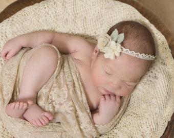 Dream Flower Crown / New Born Photo Props / Baby Headband