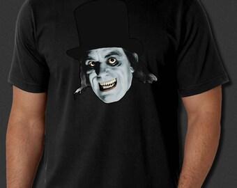 London After Midnight Lon Chaney Horror Film Goth Black T-shirt S-6xl