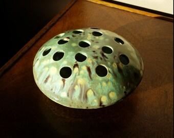Ceramic Flower Frog