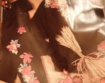 Daisy Kingdom No-Sew Fabric Applique #13501 Autumn Splendor Vintage 1995