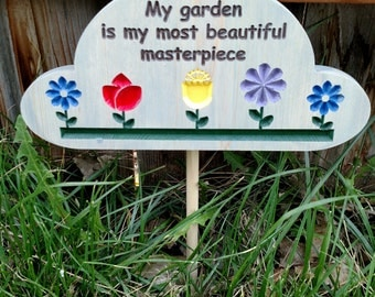 Garden Masterpiece garden sign