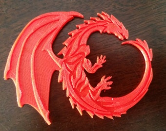 3D Printed Dragon - Single Color
