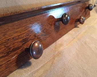 Antique Wall Coat/Hat Rack