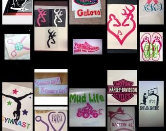 Decals/stickers
