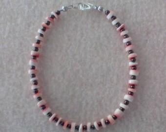 Coral Ankle Bracelet, Bracelet
