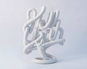 Hell Yeah sculpture (small)