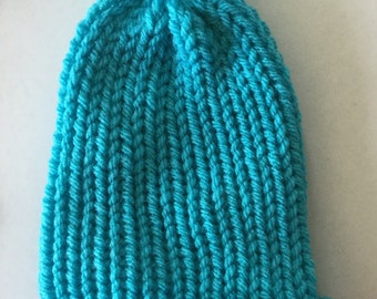 Premmie Knitted Hat, handmade- free shipping