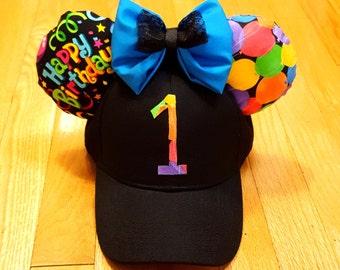 Happy Birthday Mickey Inspired Ear Hat