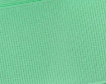 Mint Green Grosgrain Ribbon     (05-##-S-263)