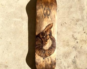 Hand Made Custom Skateboard Recycled Material